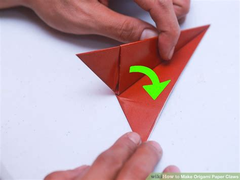 origami paper claws 3 ways to make origami paper claws wikihow