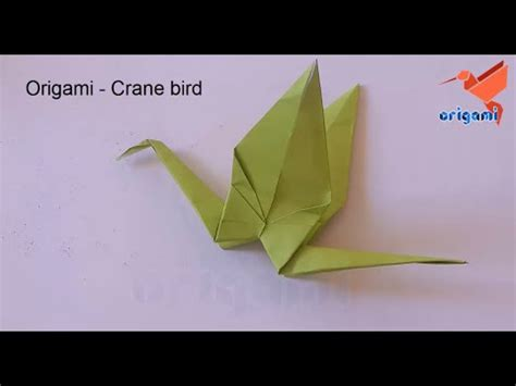 easy origami crane for beginners how to make a origami crane for beginners