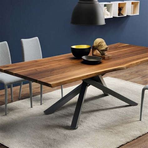 design table table design en bois pechino midj 174 4 pieds tables