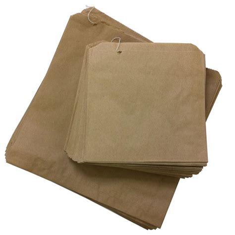 brown craft paper bags kraft brown paper bags strung 8 5 x 8 5 qty 1000