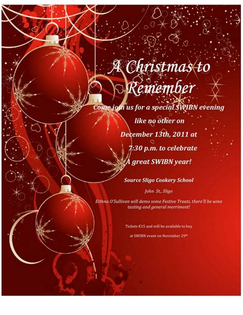 christmas invite templates free downloading