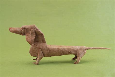 dachshund origami origami animals
