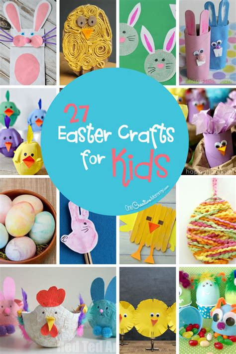 easter crafts for 27 easter crafts for onecreativemommy