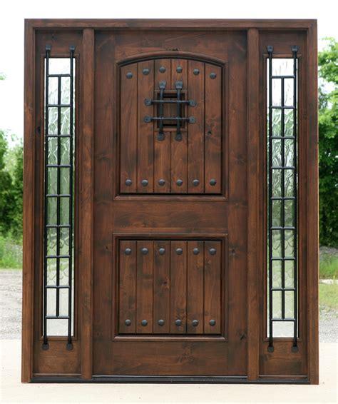 exterior front doors wood wood exterior doors with glass marceladick