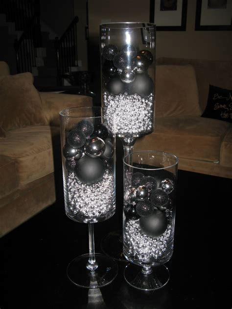 silver centerpieces 17 best images about black and silver