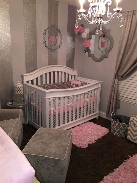 pink and grey nursery decor gray white and pink nursery project nursery