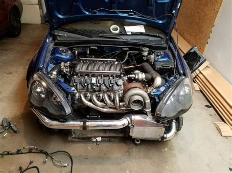 Honda Tech by Check Out This V8 Swapped Rsx Wait What Honda Tech