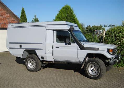 custom campers toyota hzj78