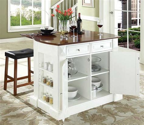 white kitchen island breakfast bar movable kitchen island with breakfast bar in white finish home interior exterior