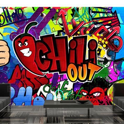 graffiti wall murals wallpaper non woven photo wall mural print