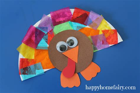 how to make a turkey craft project easy turkey craft happy home