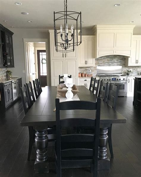 dining room table black 25 best ideas about dining tables on