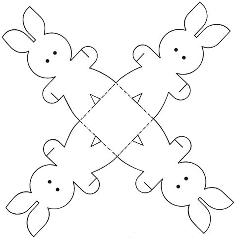 printable easter crafts for easter colouring easter bunny paper craft printable activity