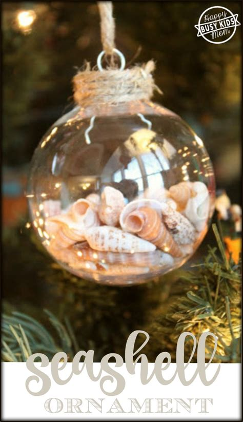 how to make photo ornaments how to make your own seashell ornament
