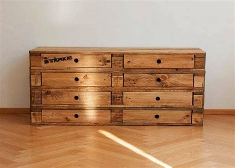 woodworking dresser wooden pallet dressers with drawers pallet wood projects