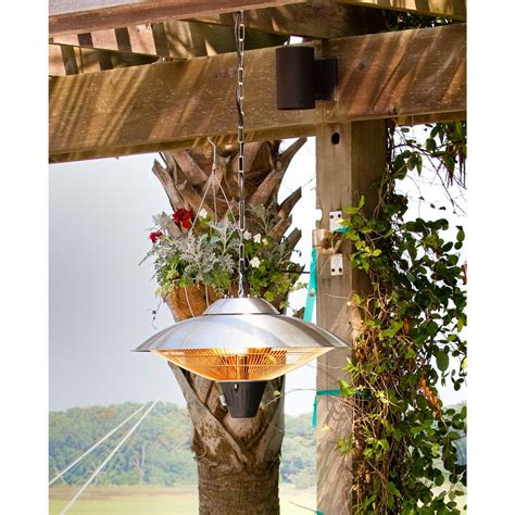 sense halogen patio heater sense hanging halogen patio heater 177142