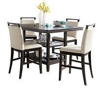 trishelle dining room table trishelle counter height dining table home decor