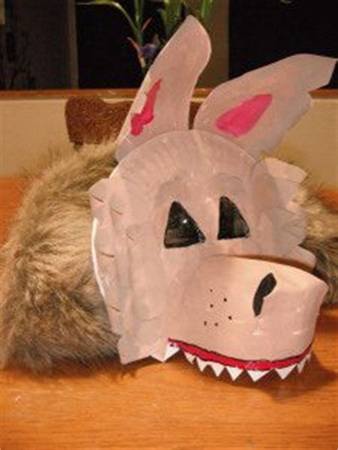 wolf paper plate craft paper plate masks 62 creative ideas guide patterns