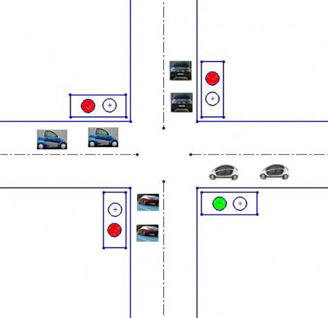 how to program lights traffic light with plc program