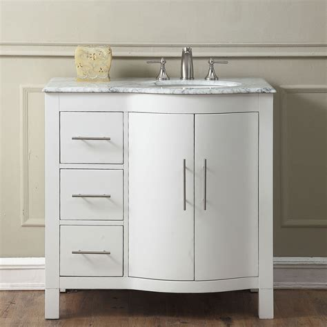 36 single sink bathroom vanity 36 inch single sink contemporary bathroom vanity cabinet