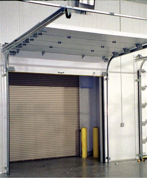 sectional overhead door frank door company the leader in cold storage door