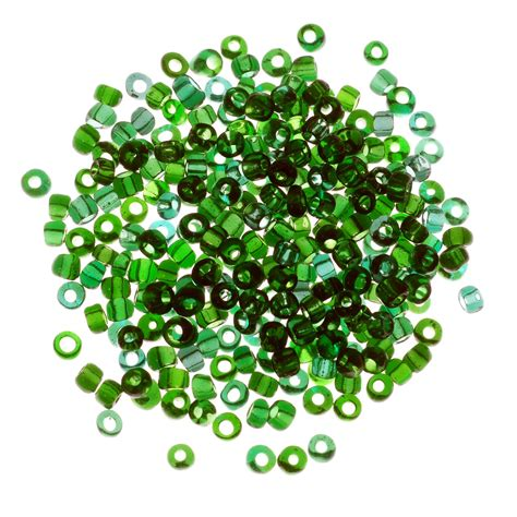 bead supply seed bead transparent 6 0 emerald ounce seed and
