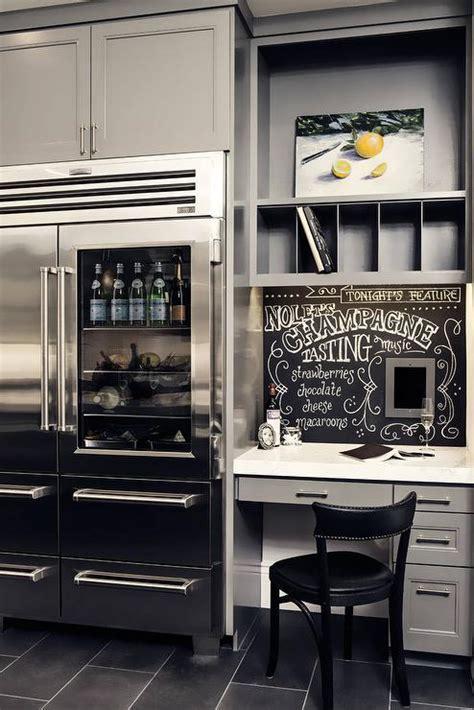 kitchen desk built in kitchen desk design ideas