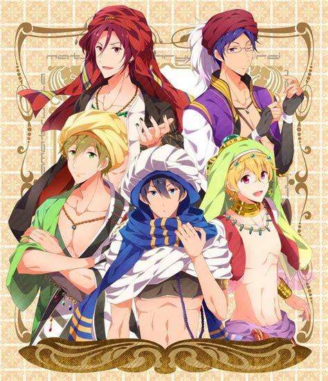 free anime haru makoto rin rei nagisa free