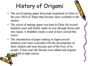 what is the history of origami dna origami dell olio hellwig travis ranch school