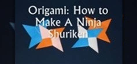 how to make a origami shuriken how to make an origami shuriken 171 origami