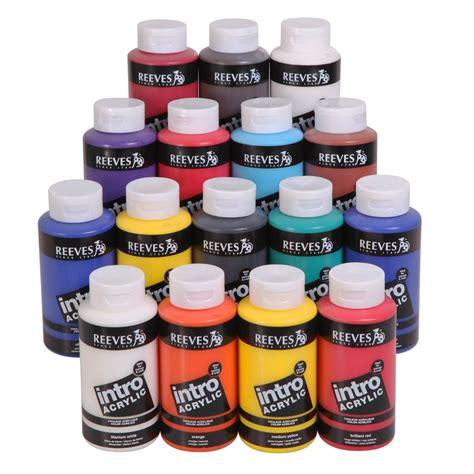 acrylic paint uk acrylic paint pot reeves from craftyarts co uk uk