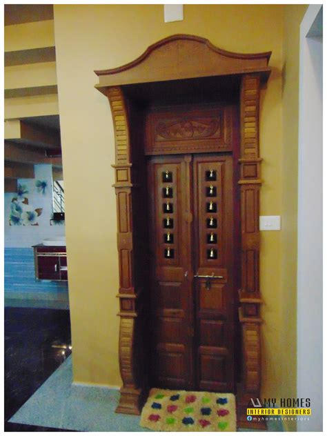 pooja room woodwork kerala pooja furniture studio design gallery best