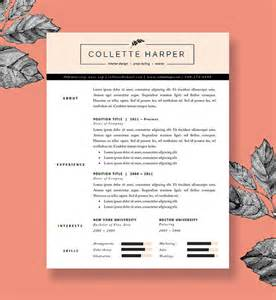 polished resume template and cover letter by