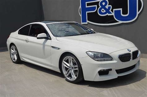 Bmw 640i Coupe by 2012 Bmw 6 Series 640i Coupe M Sport Coupe Petrol Rwd