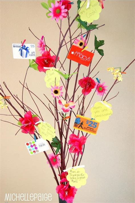 Quot How To Make A Gift Card Tree Quot Craft Ideas