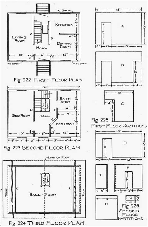 make a house plan wooden doll house plans how to make a wooden doll house