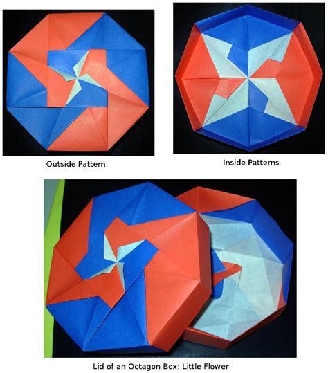 octagon origami box octagon origami box with lid comot