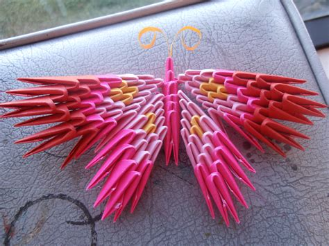 how to make 3d origami butterfly 3d origami butterfly by dcheeky on deviantart
