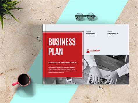 landscape business plan business plan landscape template adobe indesign template