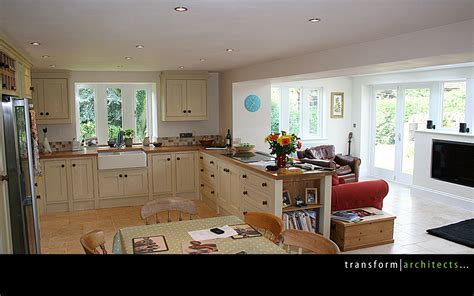 kitchens extensions designs traditional chic transform architects house extension