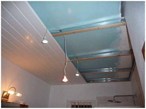 comment poser un faux plafond en lambris pvc isolation id 233 es