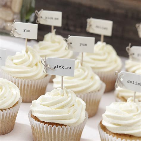 cupcakes decoration vintage style cupcake decorations by