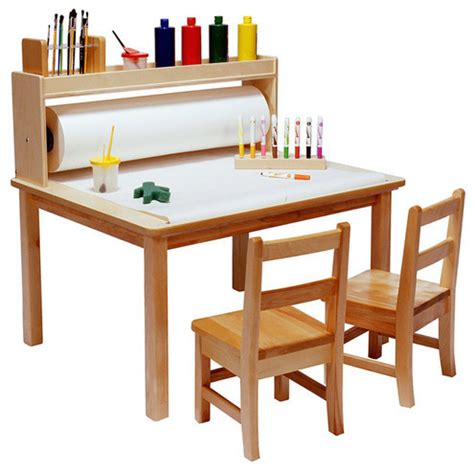 craft table with paper roll paper roll for arts and crafts table modern