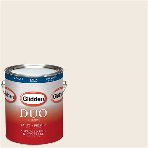 home depot paint color antique white glidden duo 1 gal hdgwn03 antique white satin