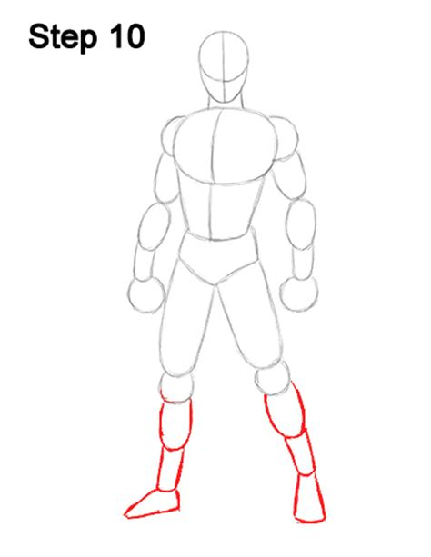how to draw bodies marvel comics