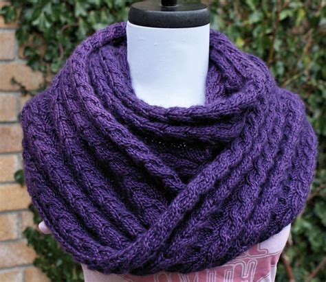 knitting patterns infinity scarf you to see shelter infinity scarf by yarnaddictanni