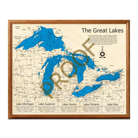 great lakes woodworking great lakes 3 d nautical wood map on tahoe time