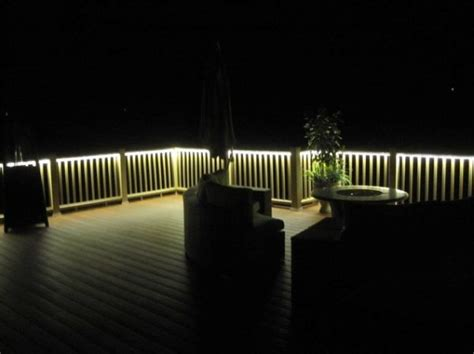 rope lights for decks lighting ideas for outdoor gardens terraces and porches