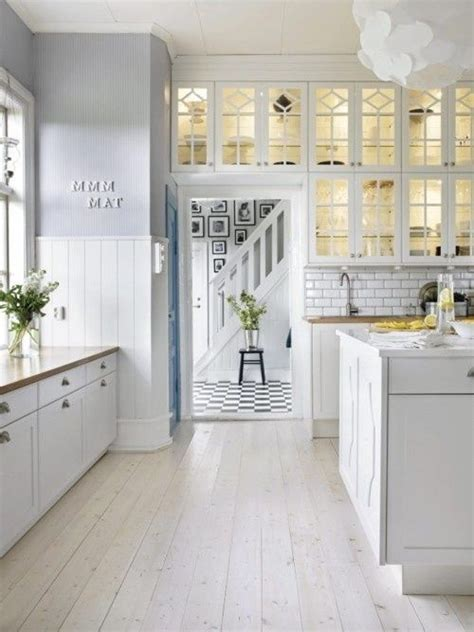 white kitchens with floors white kitchen white wash floor boards kitchen