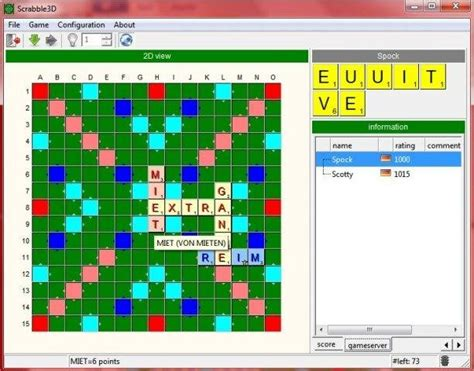 free scrabble with computer scrabble3d sourceforge net